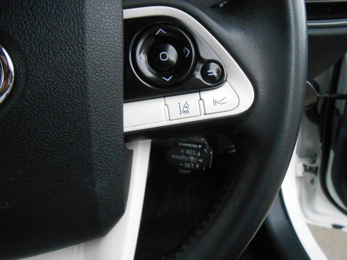 28年式 50系 プリウス A 4WD 139,000キロ 9インチSDナビ TV Bカメラ ETC LEDヘッドライト LEDフォグランプ セーフティセンス 付 車検5年4月_セーフティセンス クルーズコントロール
