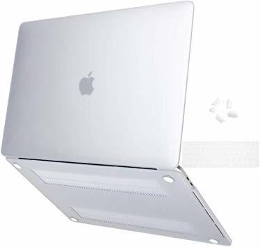 MacBook Pro 13 Touch Bar ケース 2016-2019 半透明 プラスチック 薄型 耐衝撃性 全面保護_画像1