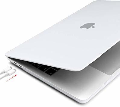 MacBook Pro 13 Touch Bar ケース 2016-2019 半透明 プラスチック 薄型 耐衝撃性 全面保護_画像6