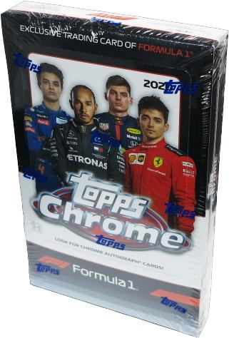 2020 Topps Chrome Formula 1 Racing Box 1-Box ②_画像1