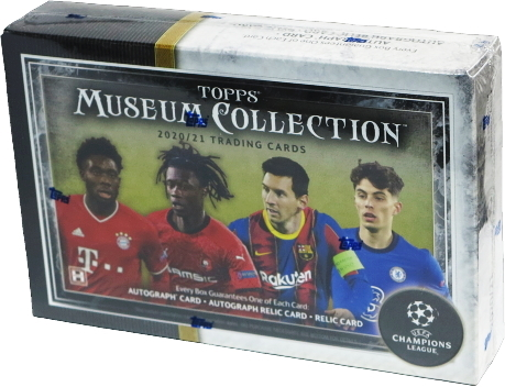 2020-21 Topps Museum Collection UEFA Champions League 1-Box ②_画像1