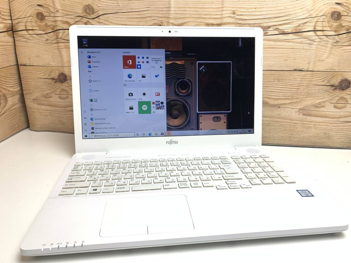 ♪第6世代Core i7-6700HQ 新品SSD1TB メモリDDR4-8GB♪富士通 AH50/A3 最新WIN10 ONKYOスピーカー カメラ office2019