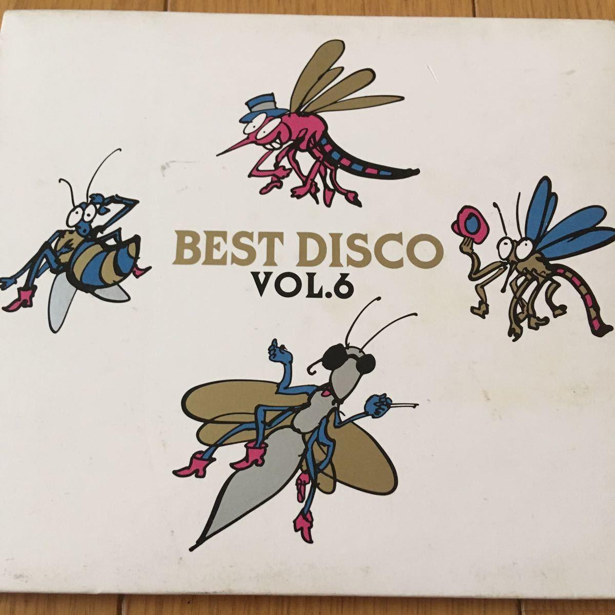 ネコポス送料無料☆ベスト・ディスコVol.6☆Best disco vol.6☆紙ジャケデジパック☆Victor VDP1505☆1989☆ユーロビート Eurobeat☆_画像1
