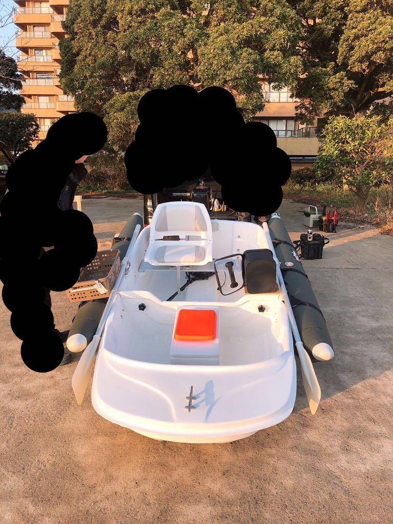 「♪ミニボート♪2馬力♪EX250♪FRP ☆コンプリートセット☆」の画像2