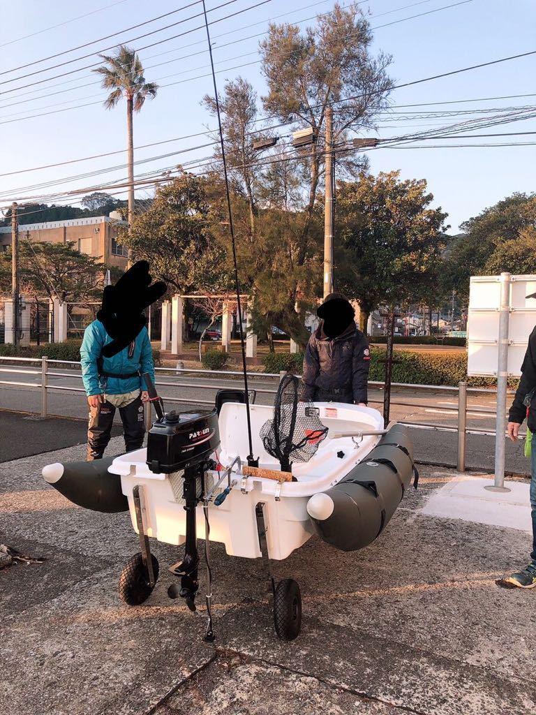 「♪ミニボート♪2馬力♪EX250♪FRP ☆コンプリートセット☆」の画像3