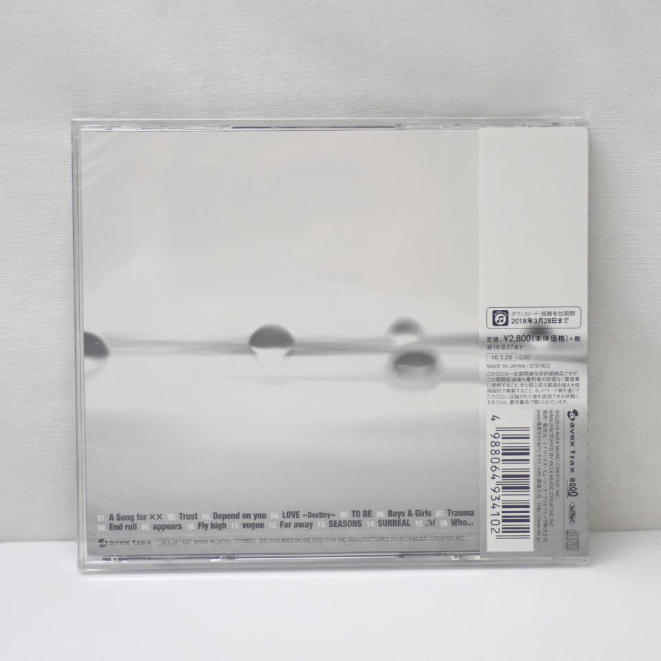 ●未開封 浜崎あゆみ A BEST -15th Anniversary Edition- 通常版 CD/全16曲収録/リマスタリング/15周年記念盤/2016年#1582300433_画像2