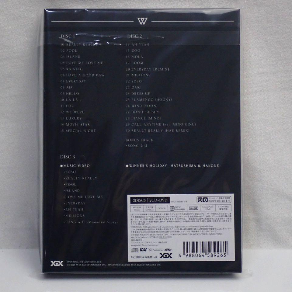 ●未開封 WINNER/ウィナー THE BEST SONG 4 U 初回盤アルバム 2CD + DVD 計3枚組/フォトブック等付属/K-POP/韓国#1582300512_画像2