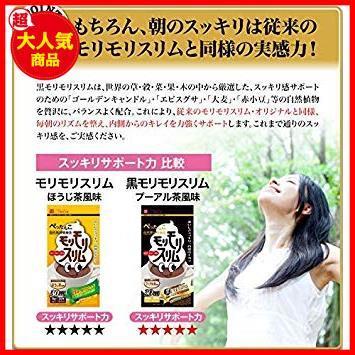【新品即決】 55g(5.5gティーバッグ×10包) ハーブ健康本舗 C2115 黒モリモリスリム (プーアル茶風味) (10包)_画像5