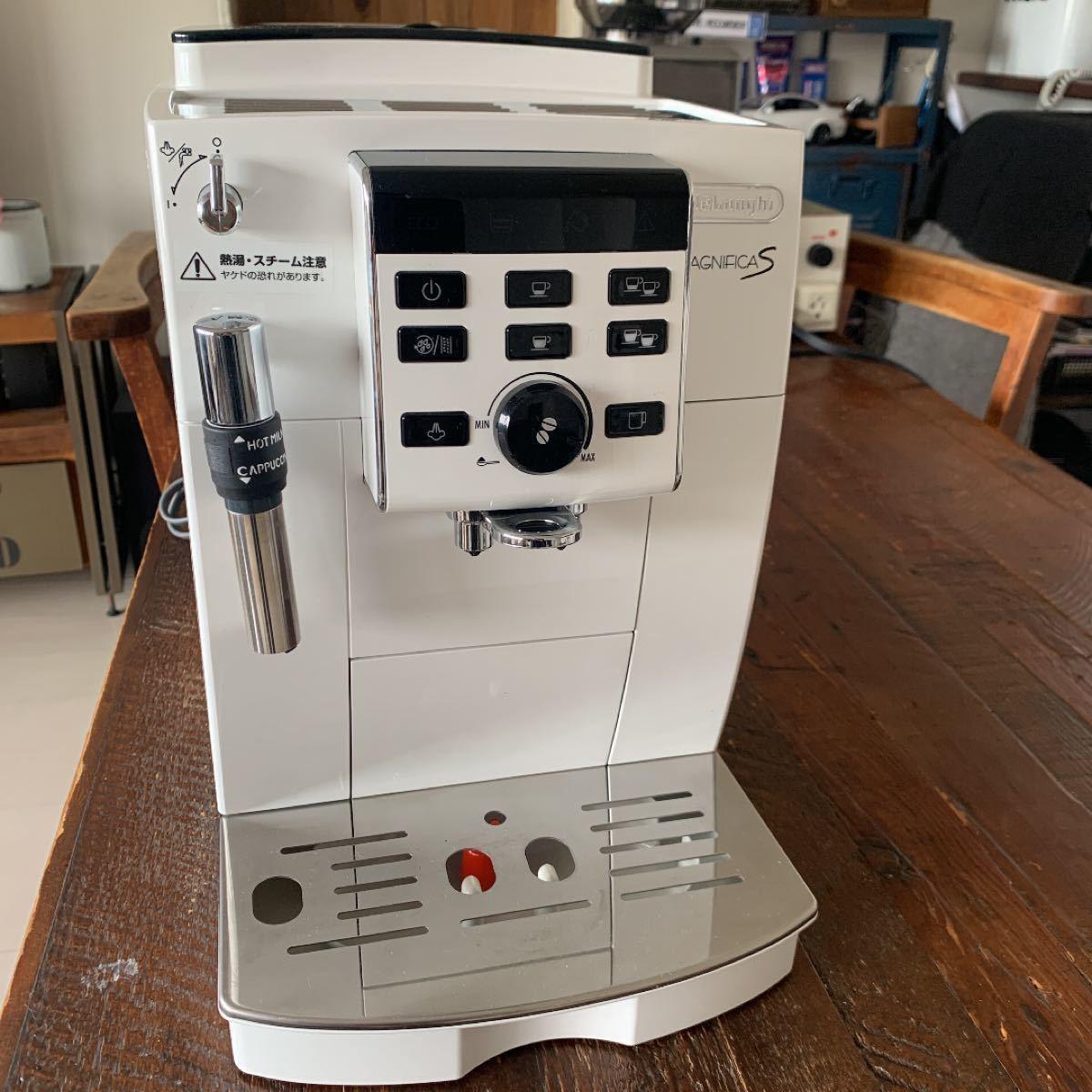 マグニフィカS デロンギ delongi エスプレッソマシン 全自動 ホワイト 白 ECAM23120WN 保証 ラテアート