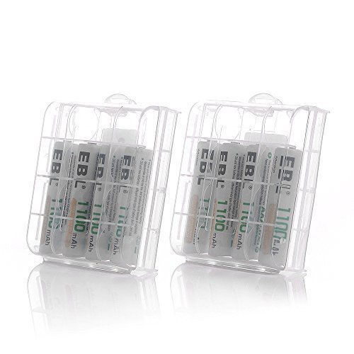 ◇在庫限り◇単4電池1100mAh×8本 EBL 単4形充電池 充電式ニッケル水素電池 高容量1100mAh 8本入り 約120_画像7