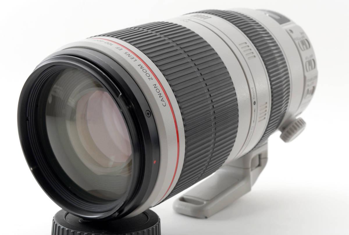 送料無料♪動作良好・接点コーティング済【canonレンズ】CANON キヤノン EF 100-400mm F4.5-5.6L IS II USM 箱付 _画像2