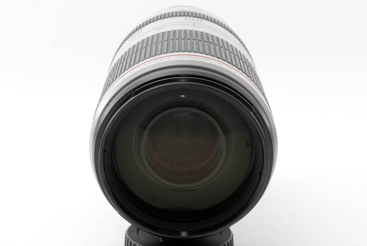 送料無料♪動作良好・接点コーティング済【canonレンズ】CANON キヤノン EF 100-400mm F4.5-5.6L IS II USM 箱付 _画像3