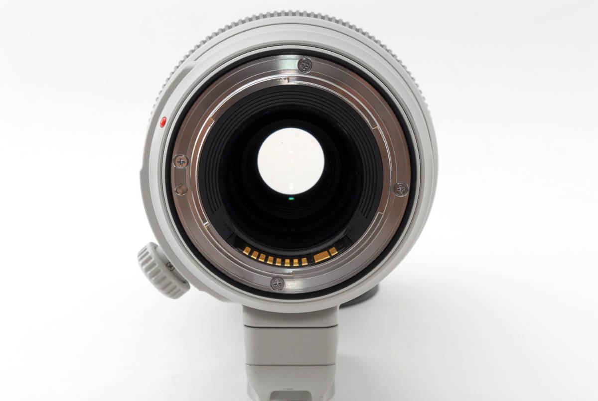 送料無料♪動作良好・接点コーティング済【canonレンズ】CANON キヤノン EF 100-400mm F4.5-5.6L IS II USM 箱付 _画像7