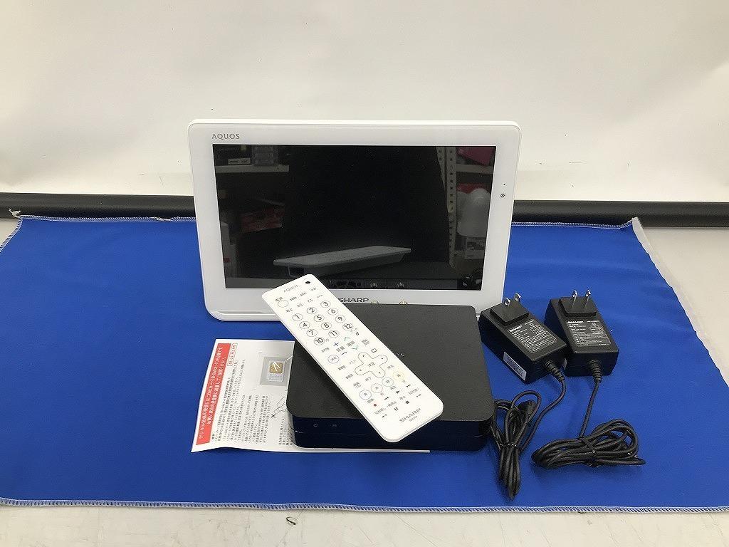 セール開催中 シャープ SHARP ポータブル液晶テレビ 2T-C12AF_画像1