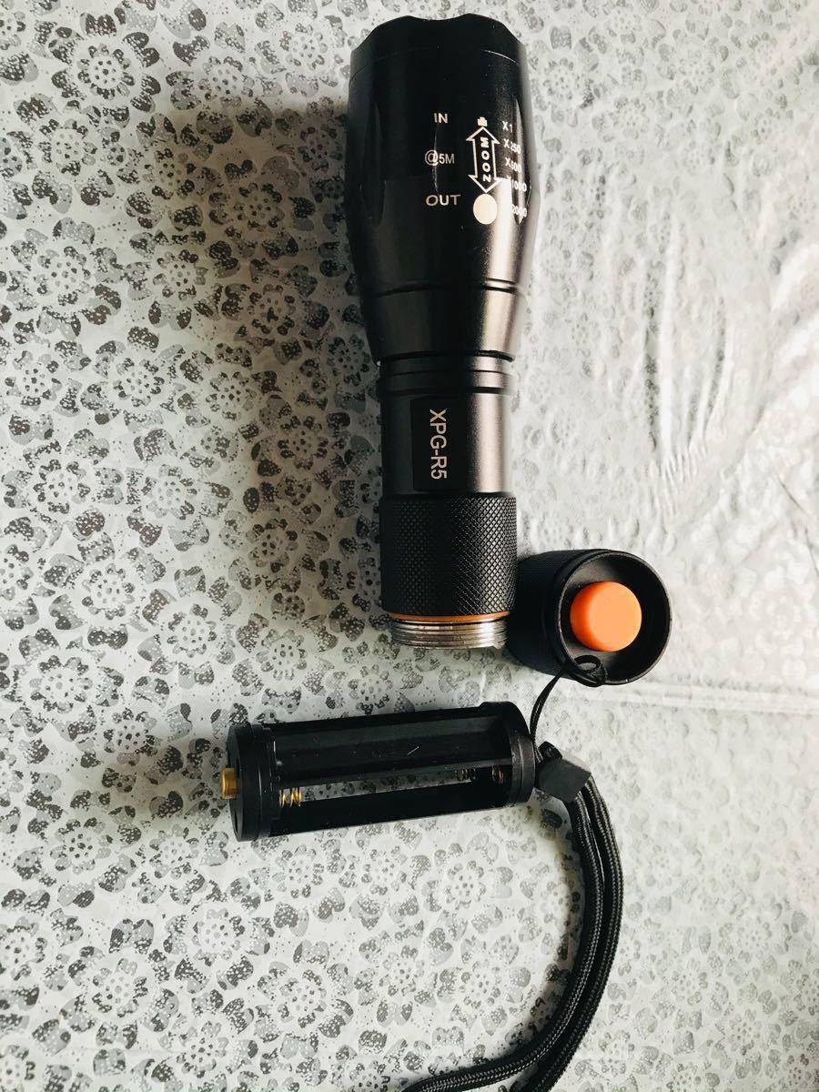 懐中電灯 LEDフラッシュライト ハンディライト 強力 超高輝度