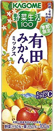 195ml×24本 カゴメ 野菜生活100 有田みかんミックス195ml ×24本_画像1