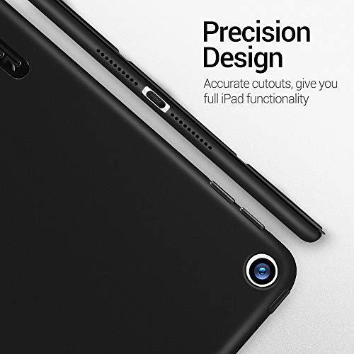 ESR ブラック ESR iPad Mini 5 2019 ケース 軽量 薄型 スマート カバー 耐衝撃 傷防止 ソフト TPU_画像4
