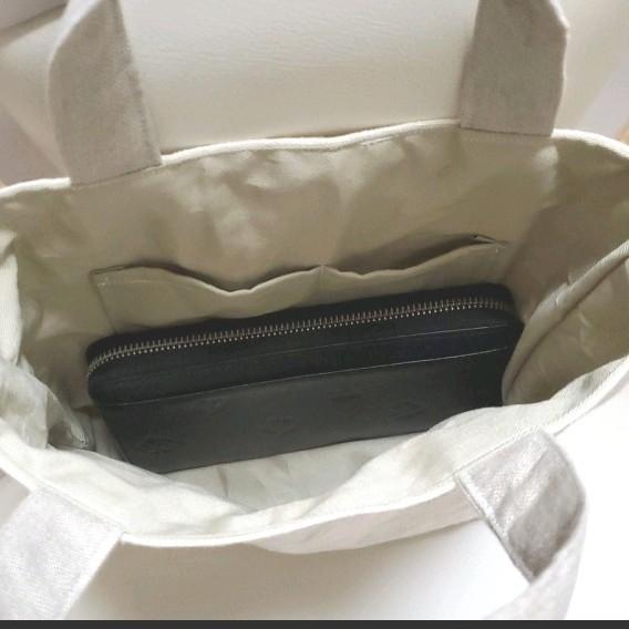 トートバッグ ハンドバッグ ショルダーバッグ ベージュ 単色  ハンドメイド
