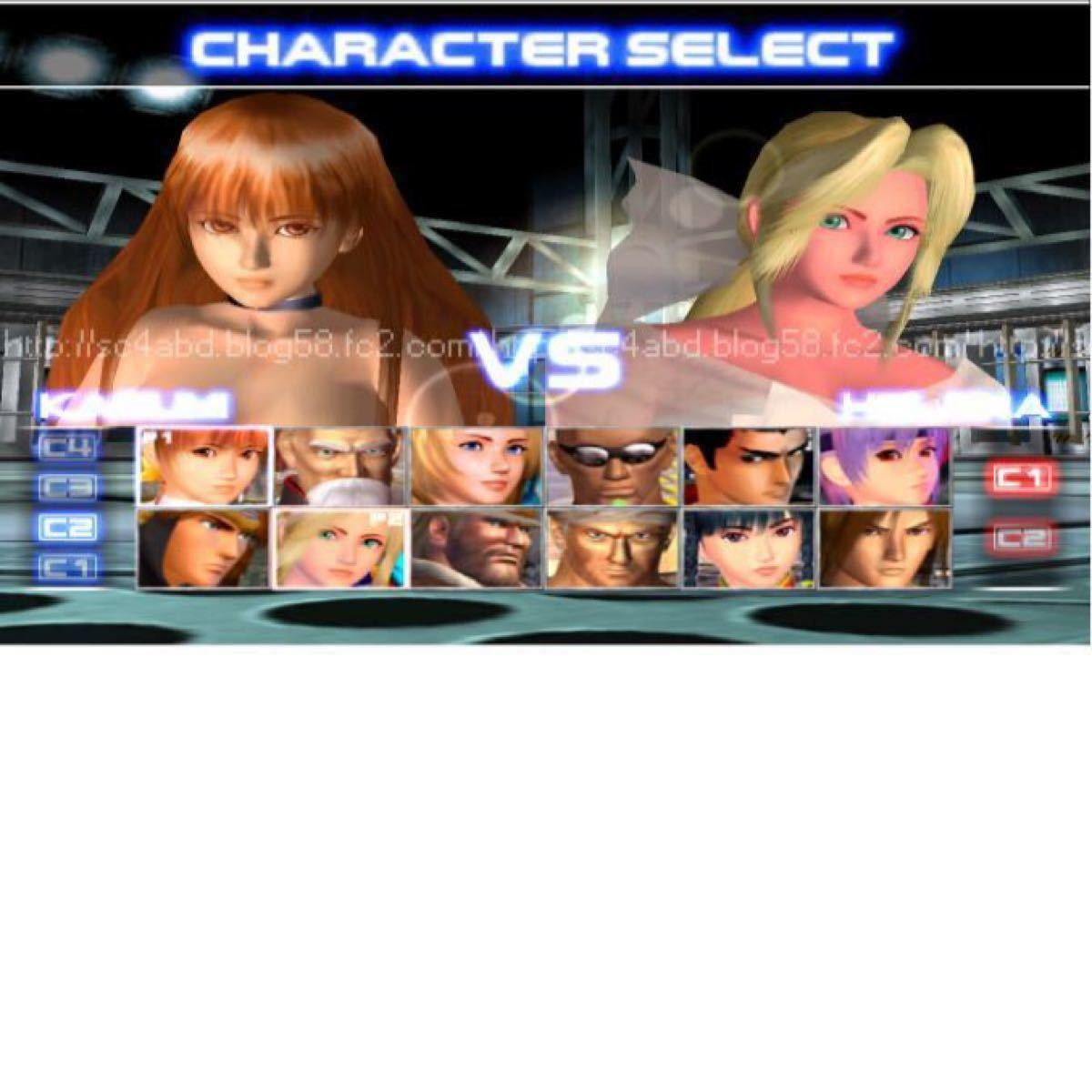 Playstation2 Dead or Alive2 ソフト+メモリーカード+データ