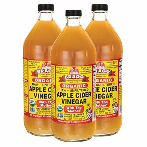 3個 Bragg オーガニック アップルサイダービネガー 【国内発送 正規品】 946ml りんご酢 (3個)_画像9