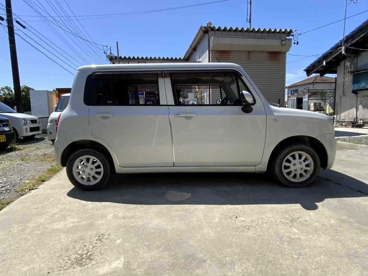 「静岡西部 すぐ乗れます♪ 平成22年 アルト ラパン プッシュスタート 車検令和4年1月ナビ ETC スマートキー」の画像3