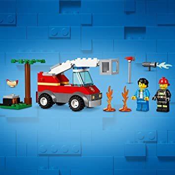 レゴ(LEGO) シティ バーベキューの火事 60212 ブロック おもちゃ 男の子_画像5
