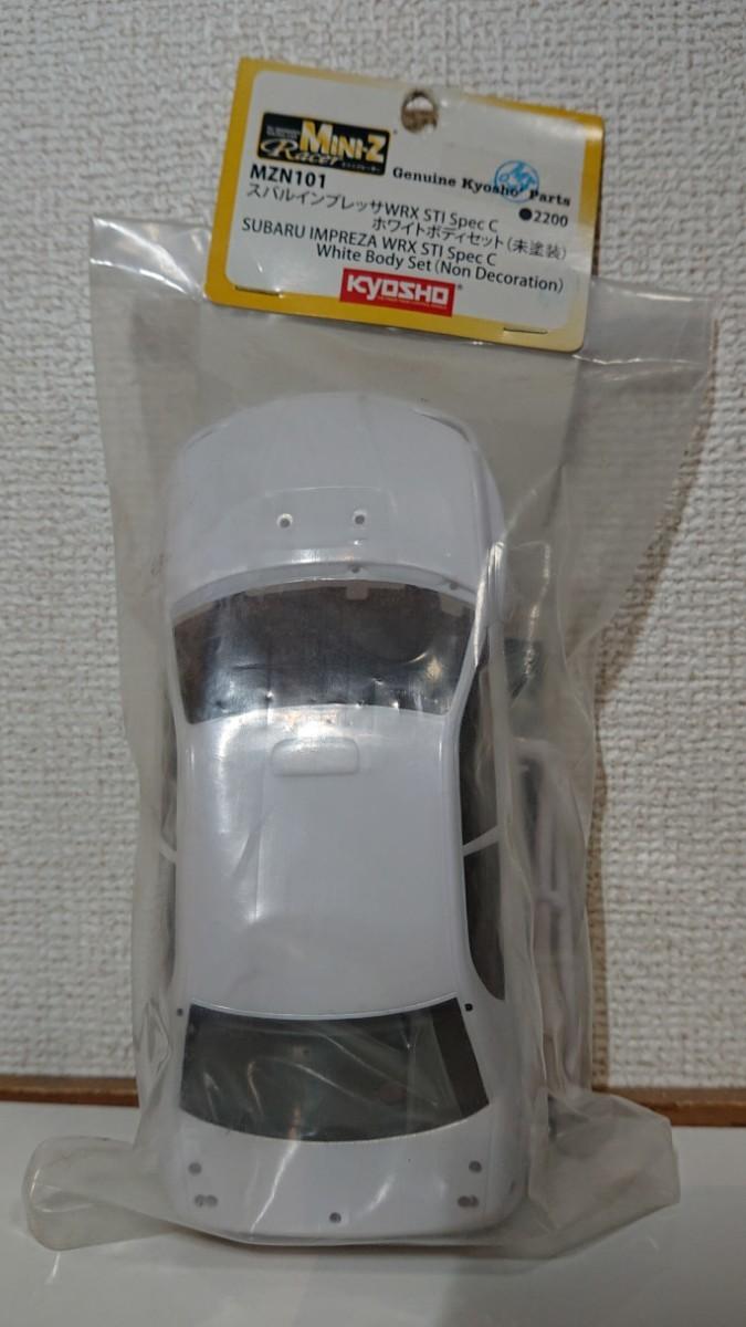 MINI-Z 京商 ミニッツ ホワイトボディ MZN101 スバル インプレッサWRX STi Spec C