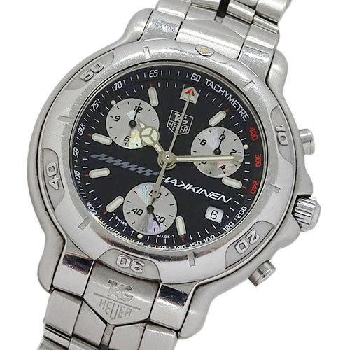 1円~ タグホイヤー 時計 CH1114 BA0675 6000シリーズ ミカ・ハッキン 2000本限定 クオーツ メンズ(v0061810100)