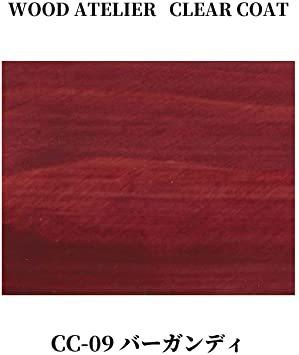 バーガンディ 90ml 和信ペイント 水性ウレタンニス ウッドアトリエ クリアコート 90ml 800709 木部をコーティング_画像2