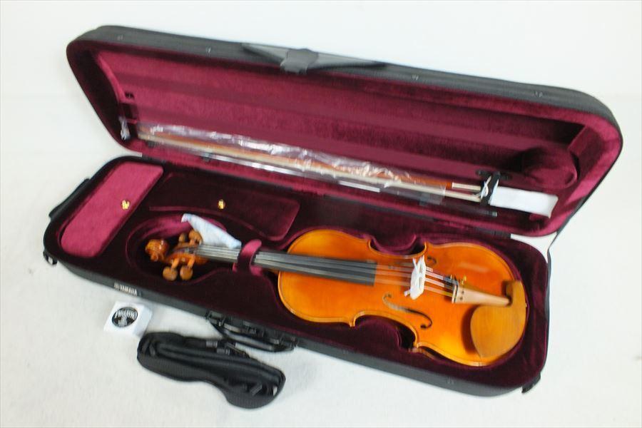 ★YAMAHA ヤマハ V20G ヴァイオリン 取扱説明書有り ハードケース付き 現状品 中古 210501N3116