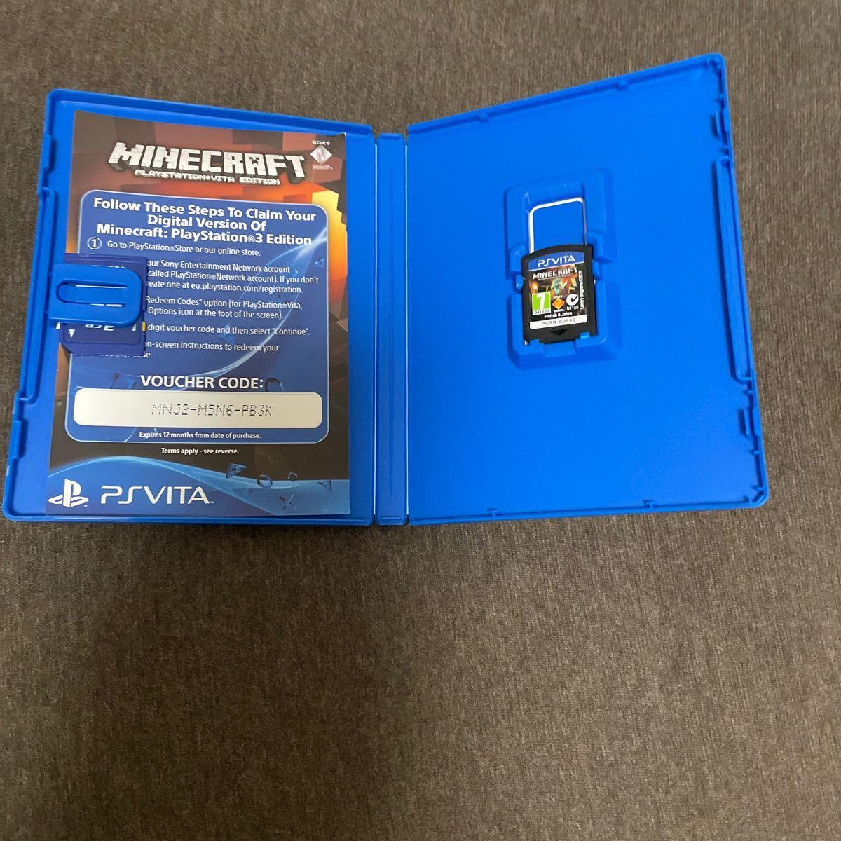 マインクラフト PS Vita ソフト Minecraft