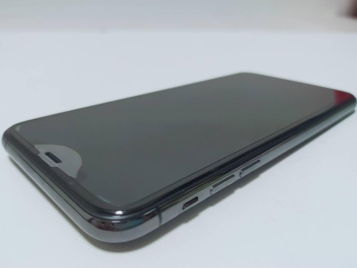 Apple(アップル)iPhone 11 Pro Max A13 Bionic 6.5型 512GB デュアルSIM(nano-SIMとeSIM) MWHN2J/A スペースグレイ【国内版SIMフリー】_画像4