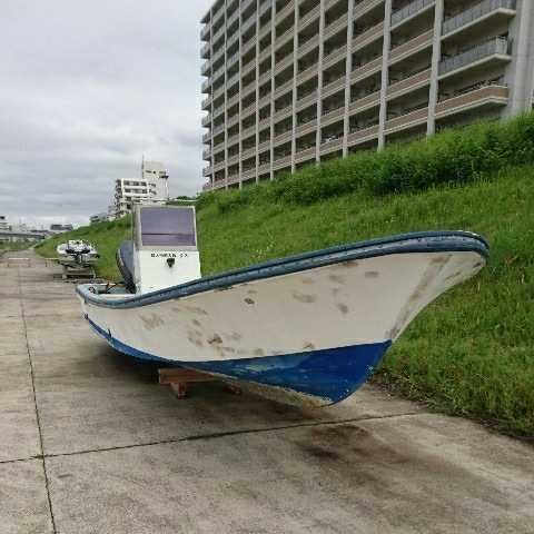 「☆ヤマハ和船W27フィートセンターコンソール、ヤマハ2サイクル115馬力、油圧ハンドル、リモコン仕様、釣り、トレーラーブルに」の画像1