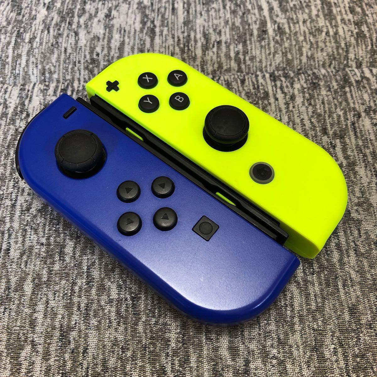 Nintendo Switch Joy-Con ブルー ネオンイエロー
