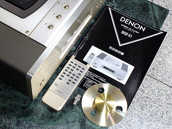 DENON DCD-S1 デノン最高峰の一体型CDプレーヤー【美品】_画像10