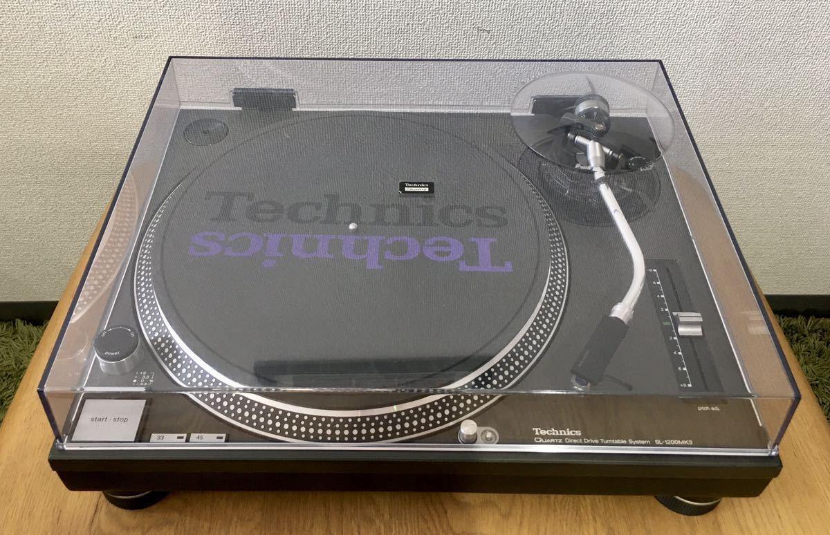 Technics テクニクス ターンテーブル SL-1200MK3 レコードプレーヤー