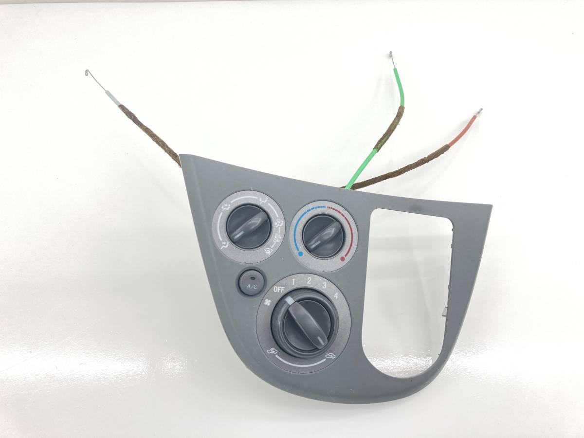 _b60195 ダイハツ ムーヴ ムーブ L DBA-L175S エアコンスイッチ パネル トリム カバー 内装 ワイヤー付き FD10 55406-B2810 L185S_画像1