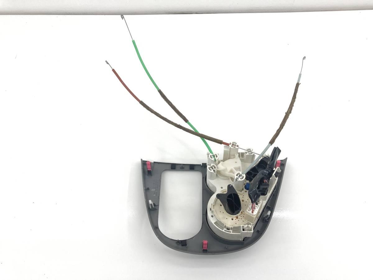 _b60195 ダイハツ ムーヴ ムーブ L DBA-L175S エアコンスイッチ パネル トリム カバー 内装 ワイヤー付き FD10 55406-B2810 L185S_画像5