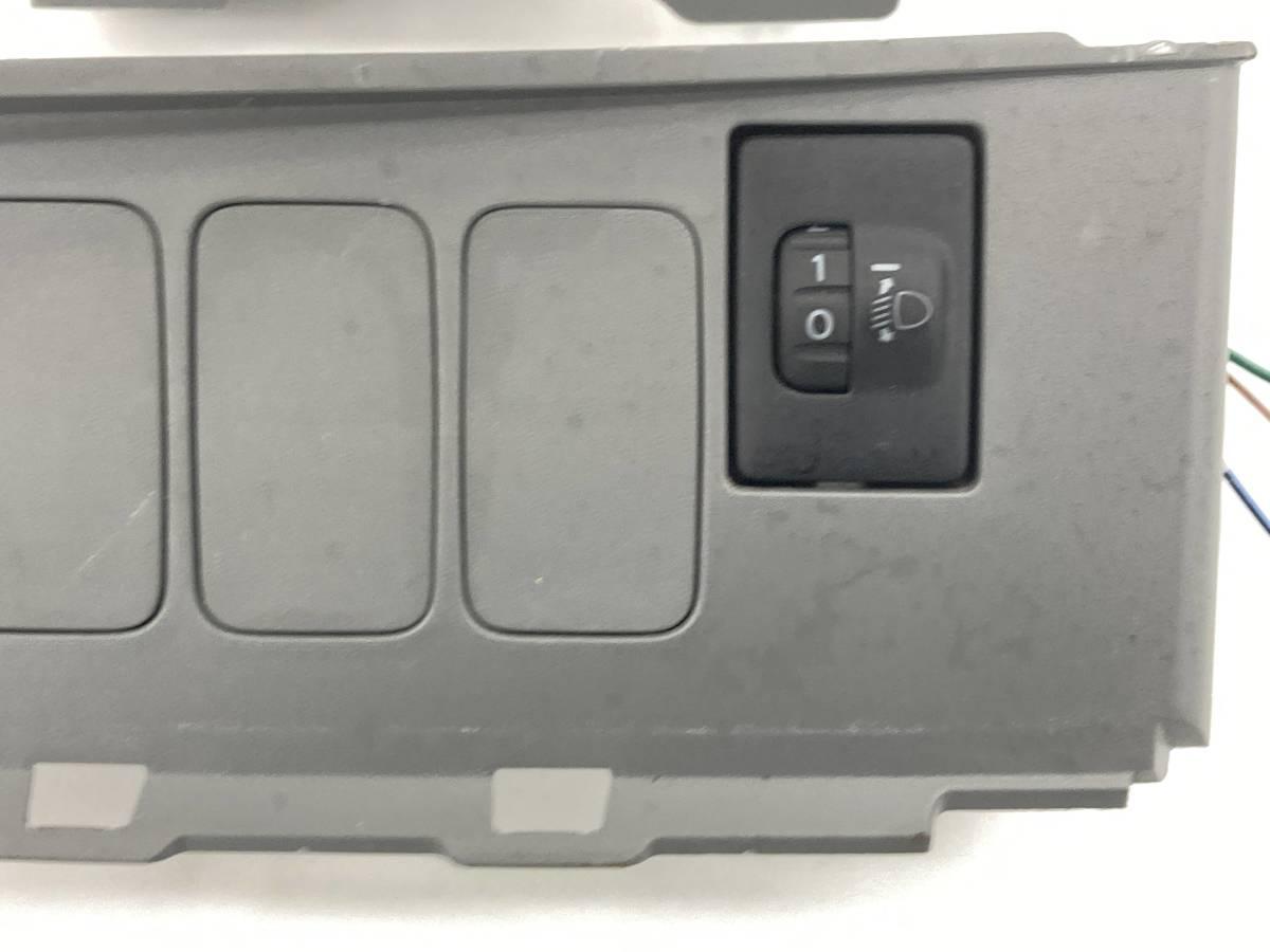 _b60195 ダイハツ ムーヴ ムーブ L DBA-L175S レベライザー スイッチ 光軸 トリム 内装 カバー FD10 55446-B2050 L185S_画像2