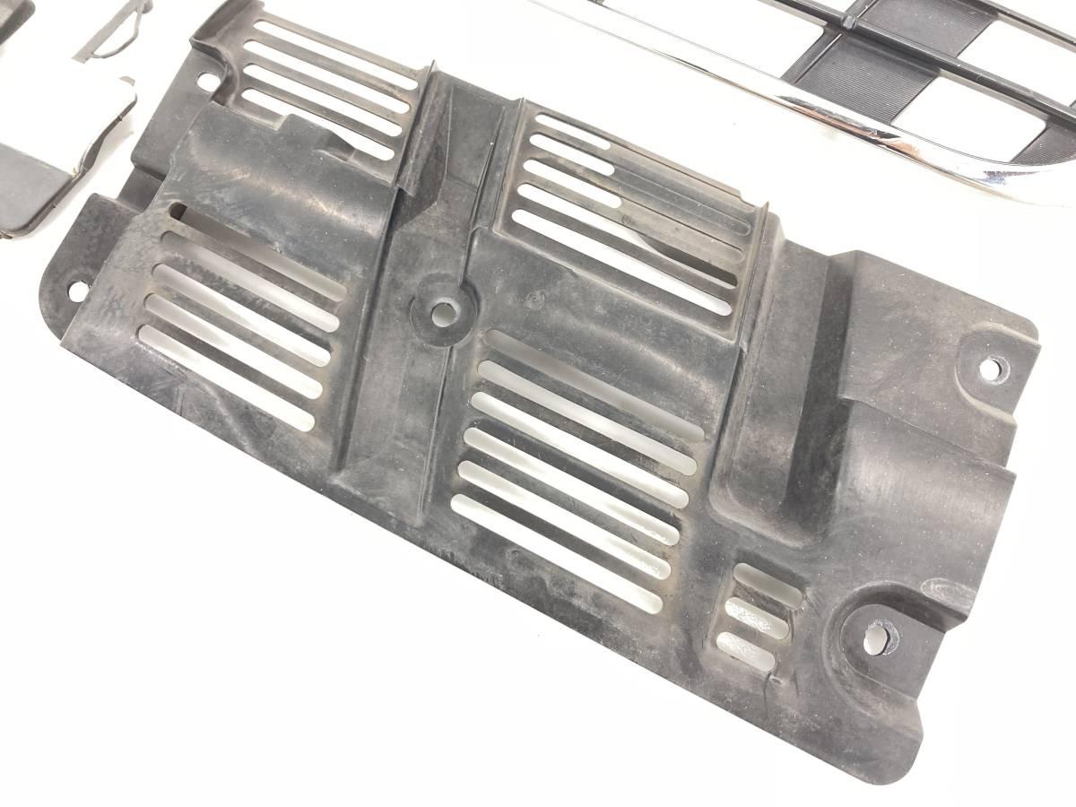 _b60195 ダイハツ ムーヴ ムーブ L DBA-L175S フロント バンパー グリル 牽引フック カバー W09 L185S_画像6