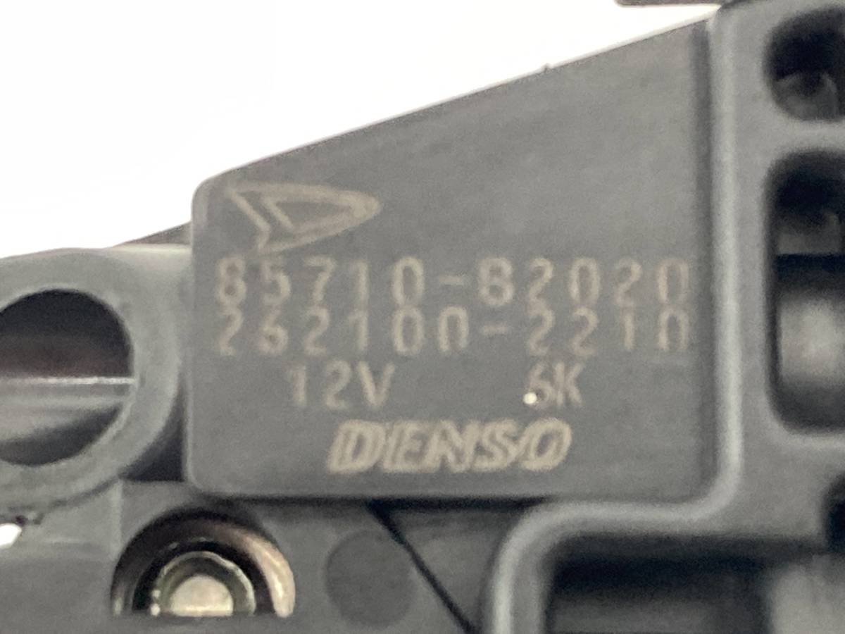 _b60195 ダイハツ ムーヴ ムーブ L DBA-L175S リア リヤ 右 R/RH ドア ウインドウ レギュレーター モーター 85710-B2020 / 262100-2210_画像3