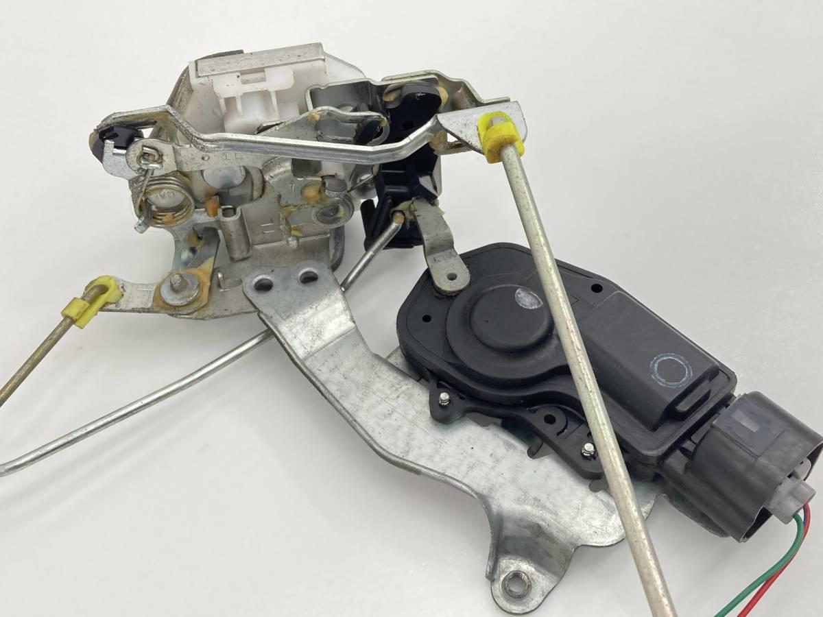 _b61506 アルトラパン ターボ TA-HE21S ドアロックアクチュエーター ワイヤー付き フロント 左 F/LH マツダ スピアーノ HF21S_画像3