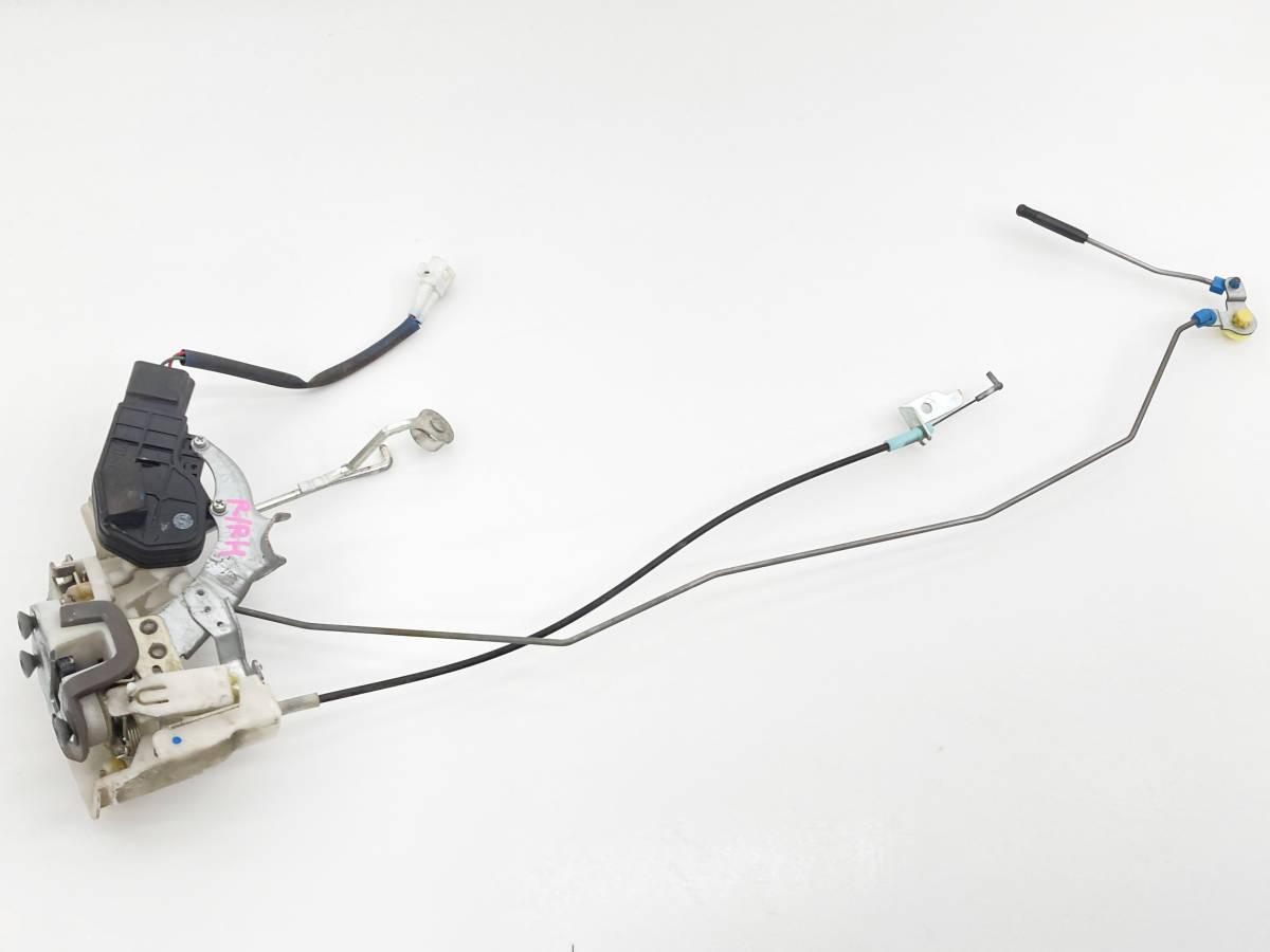 _b61506 アルトラパン ターボ TA-HE21S ドアロックアクチュエーター ワイヤー付き リア リヤ 右 R/RH マツダ スピアーノ HF21S_画像1