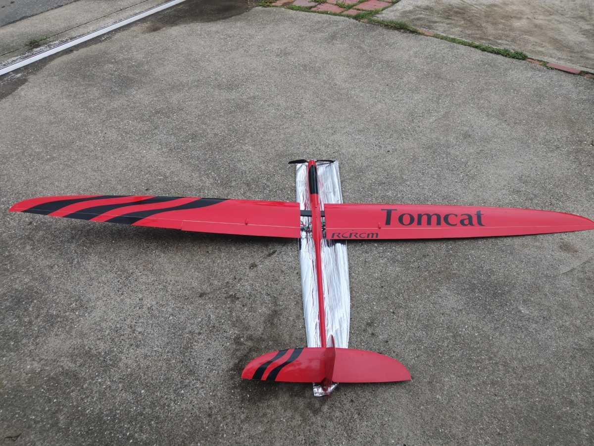 電動グライダー RCRCM製 TOMCAT 2.5m シャーレ翼_画像1