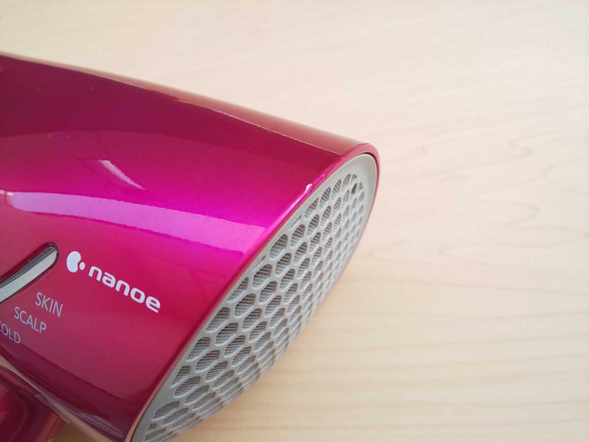 Panasonic パナソニック ヘアドライヤー ナノケア EH-NA97 ビビッドピンク