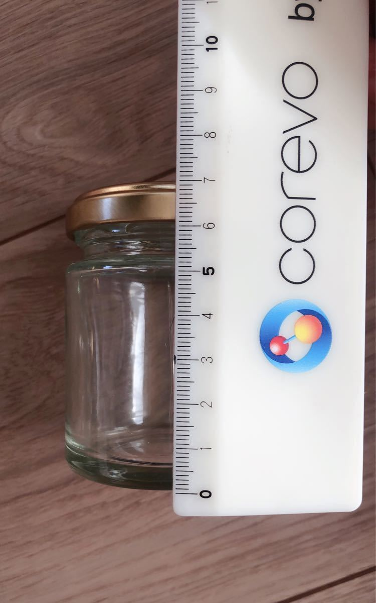 蓋付き プリン瓶 ガラス瓶 ジャム瓶 空瓶 10個