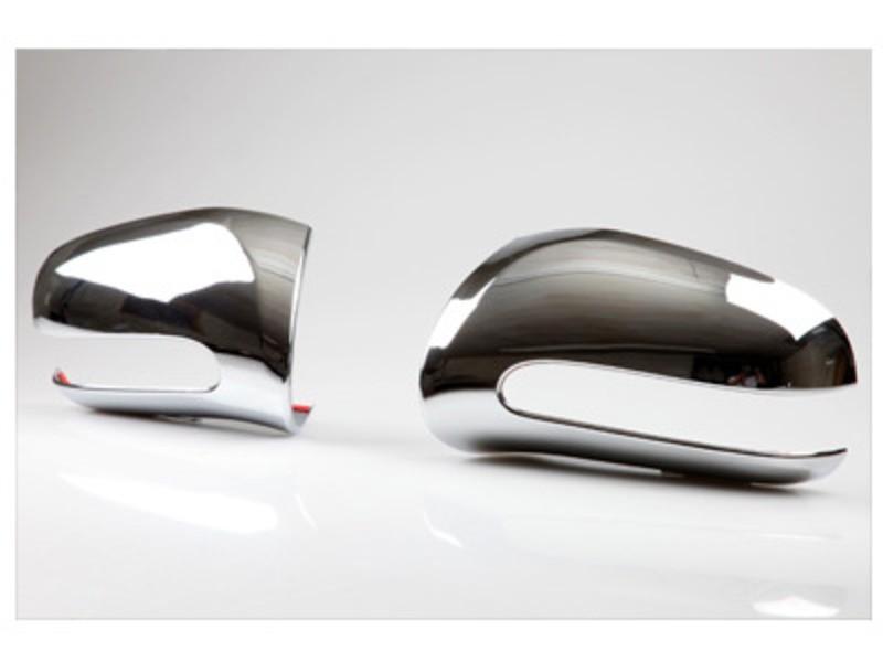 メルセデスベンツ用 Sクラス W220 前期 CL W215 クロームメッキドアミラーカバー/MERCEDES-Benz用/メルセデス用/サイドミラーカバー_画像1