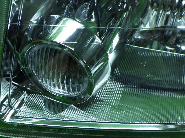 ミツビシ CR9W ディオン 左ヘッドライト ハロゲン キレイ 210525110_画像3