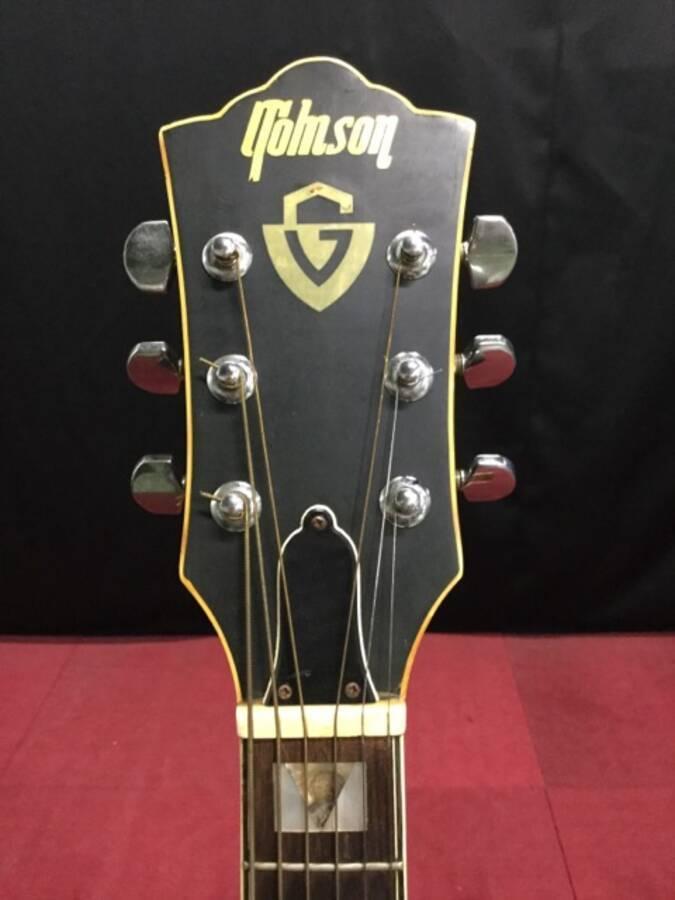 TOMSON トムソン GW-380 アコースティックギター シリアルNo.50908★現状品_画像2