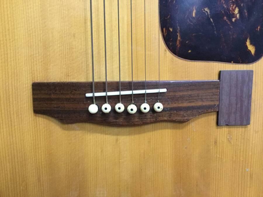 TOMSON トムソン GW-380 アコースティックギター シリアルNo.50908★現状品_画像4